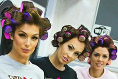 Hot Rollers, Roller Set, Curlers, Beauty Shop, Perm, Hair And Nails, Salons, Dresser, Hair Cuts