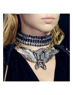 ZAYDA Eagle Details Necklace