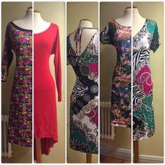 Jag har sytt flera fina klänningar till mej i trikå. Den här modellen är lätt att sy, man vill nästan massproducera :) Nu tänkte jag dela ...