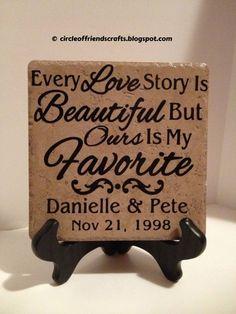 Love Story Tile