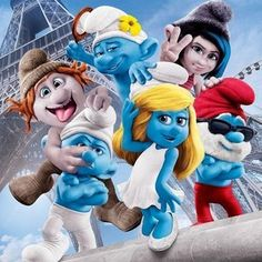 ... about The Smurfs 2 on Pinterest | The smurfs 2, The smurfs and Thalia