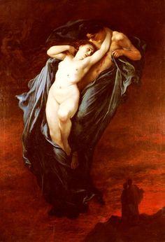 """Hades and Persephone (Gustave Dore """"Paolo and Francesca Da Rimini"""")"""