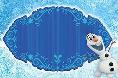 Montando a minha festa: Olaf - Frozen uma aventura congelante