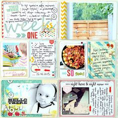 Project Life ::: week 1 by mumkaa at @Abigail Phillips Mounier Calico