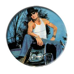 ONLY ONE Kid Rock 2-1/4 Inch Button