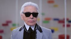 Karl Lagerfeld's Interview - Cruise 2015/16 CHANEL show