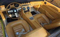 Maserati Ghibli SS Spider (1970-1973 Model) Interior