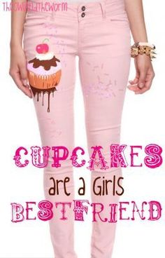 Cupcakes are a Girls Best Friend - To eat the cupcake or not to eat? That is the question. - TheOwlAndTheWorm