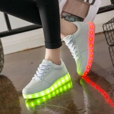 Luminous sneakers led shoe with Lights Up simulation Glowing Sneakers //Price: $13.72 & FREE Shipping //     #kidstoys