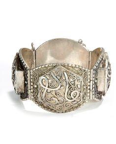 Silver Bangle Egyptian Cuff Tribal Bangle Matching Pair Small Wrist Nubian Bracelet Tribal Jewelry Currency Bracelet