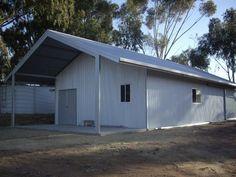 Garage with Garaport