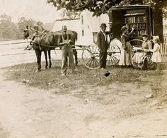 ... was referring to the bookmobile—the nation's first— that she had custom outfitted in 1904 to deliver books to the residents of Washington County, MD. The horse-drawn Concord wagon could display 200 volumes and store another 2,360 behind its shelves.