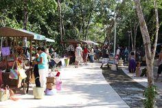 Organic Sunday Market, Aldea Zama, Tulum