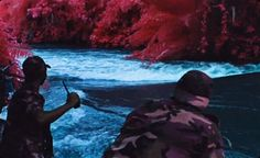 """Film: An in-depth look into Richard Mosse's infrared filming technique for """"The Enclave"""""""