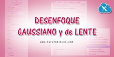 Desenfoque gaussiano y de lente – Photoshop Tutorial | PS Tutoriales
