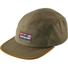 Patagonia Board Short Label Tradesmith 5-Panel Cap ($35) ❤ liked on Polyvore featuring accessories, hats, five panel hat, 5 panel cap, five panel cap, 5 panel hat and patagonia