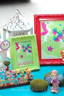 Fairy Party - Frames for labels