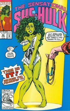 La Sensacional Hulka (She-Hulk) de John Byrne