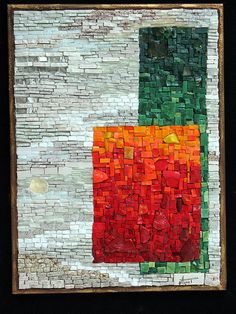 Mosaic abstract                                            #mosaic #mosaicabstracts #mosaicart