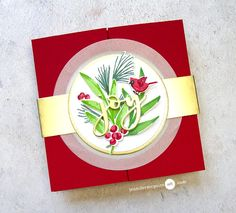 Fancy Fold Cards, Folded Cards, Jennifer Mcguire Ink, Window Cards, Wink Of Stella, Interactive Cards, Comfort And Joy, Bird Cards, Card Making Inspiration