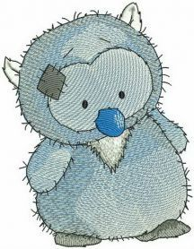 Midnight machine embroidery design. Machine embroidery design. www.embroideres.com