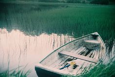 Take a relaxing boat ride, before putting up the tent..........