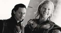 Thor *gif* Love the little look Loki gives Thor.  I am now smiling uncontrollably!