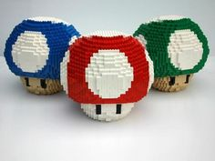 Lego Mushrooms