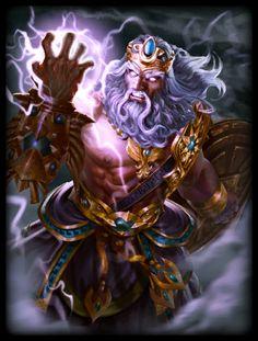 Zeus Wrath of Olympus Skin (Smite)