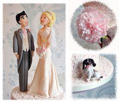 Amy and Stuart's wedding cake