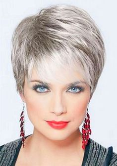 Pixie Hairstyles for Older Ladies