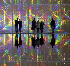 Korean artist #Kimsooja has transformed an 80-meter-long gallery space at @centrepompidou into a prismatic hall of mirrors and light. Read up on the exhibition on Artsy [link in bio] and visit in person now through January 4th. //  via #CentrePompidouMetz #KukjeGallery by artsy
