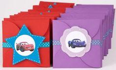 cars 2 invitations boys/girls