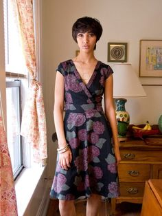 The Oberlin Dress, handmade with block printed cotton at a women's Fair Trade cooperative in India. So beautiful!
