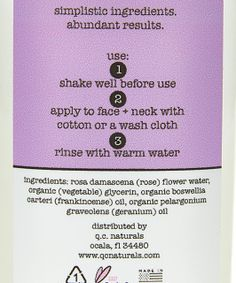 gentle is the name of the game. treat your skin to an effective cleanse {without the added irritation of traditional cleansers} with our all-natural rosewater facial cleanser.  4 fl oz.│simplistic ingredients. abundant results.™  use: shake well before use. apply to face + neck with a cotton round or face cloth and rinse with warm water. consider grabbing some timmy's toner and quinny's cream for the ultimate skincare experience.  ingredients: rosewater, organic vegetable glycerin, organic…