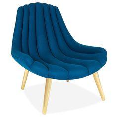 Jonathan Adler - Brigitte Navy Lounge Chair