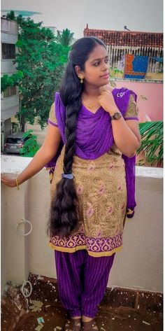 Indian Long Hair Braid, Braids For Long Hair, Beautiful Girl Indian, Beautiful Girl Image, Indian Hairstyles, Girl Hairstyles, Desi Girl Selfie, Natural Hair Styles, Long Hair Styles
