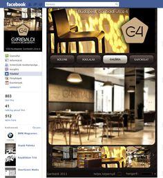 Garibaldi Bisztro Facebook app live2