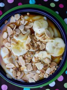 Cream of Wheat Cereal with Banana Topping! Photo by Cookgirl #breakfast #healthy #creamofwheat CreamofWheat.com