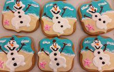 Olaf Summer Cookies!