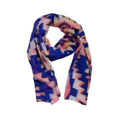 Blue Line Scarf - Summer collection Little Pieces - Online Kids Webshop - Goldfish.be