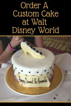 If You Are Celebrating A Special Occasion Can Order Custom Cake At Walt