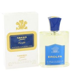 EROLFA by Creed Millesime Eau De Parfum Spray 4 oz (Men). Erolfa was introduced by the design house of Creed in This refreshing masculine scent possesses a blend of citrus, coriandre, basil and cedarwood. Erolfa is recommended for daytime wear. Perfume Store, Perfume Bottles, Creed Cologne, Men's Cologne, House Of Creed, Creed Fragrance, Creed Perfume, Best Mens Cologne, Parfum Spray