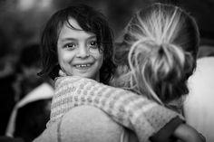 どんなときでも笑顔になれる。難民の子供たちの目は輝いていた(画像集)
