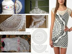 Crochet patterns: Free Crochet Pattern for Sparkle & Swirl Tunic by Urbanotfitters
