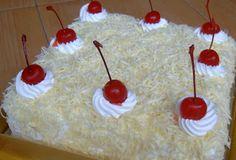 Resep Cake Lapis Keju Indonesian Desserts, Indonesian Cuisine, Asian Desserts, Japanese Cotton Cheesecake, Resep Cake, Asian Cake, Fudge Cake, Food Decoration, Pastry Cake