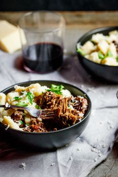 Beef Ragu With Parmesan Gnocchi | Simply Delicious #Recipe #Dinner #Comfortfood #food