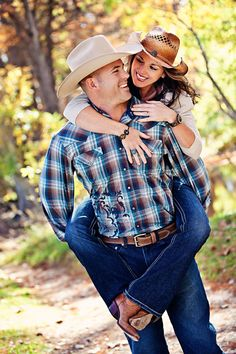 cowboy and cowgirl