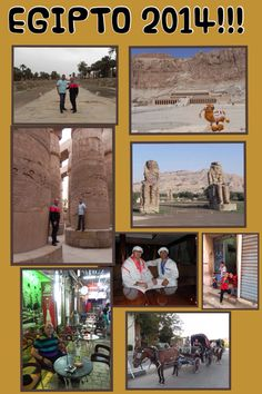 Recuerdos de abril en Egipto: Luxor, Karnak, Valle de los Reyes, Templo de Hatshetsup y los Colosos de Menmom!!!