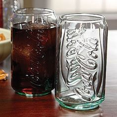 Coca-Cola Can-Shaped 12oz. Glass - $4.50